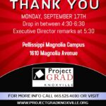 MEET THE PROJECT GRAD TEAM ON SEPTEMBER 17!